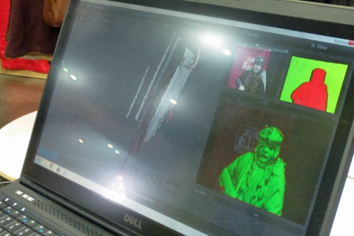 3D Photobooth rendering Gimli KCCC 2015