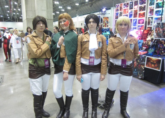 Attack on Titan cosplay KCCC 2015