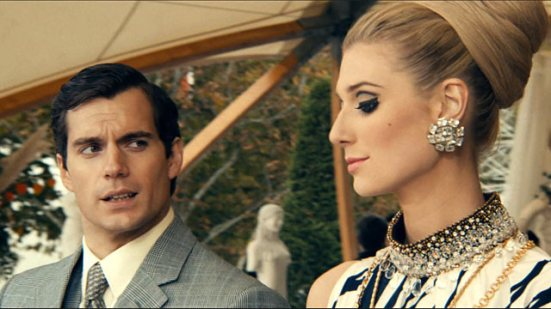 Cavill Debicki Man from UNCLE