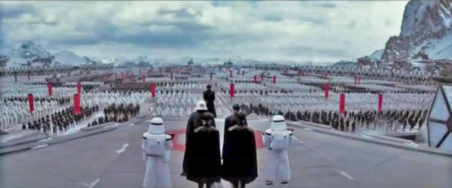 First Order view Star Wars Episode VII Agust 10 Tv spot Korea