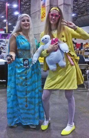 Game of Thrones and Big Hero 6 cosplay