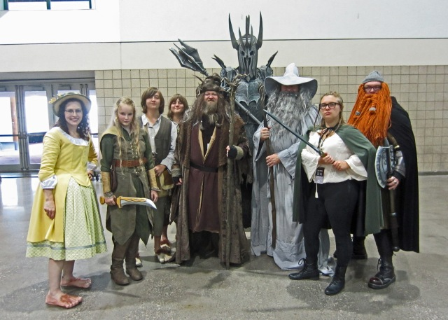 Lord of the Rings cosplay KCCC 2015