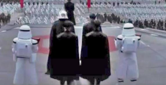New snowtroopers Star Wars Episode VII