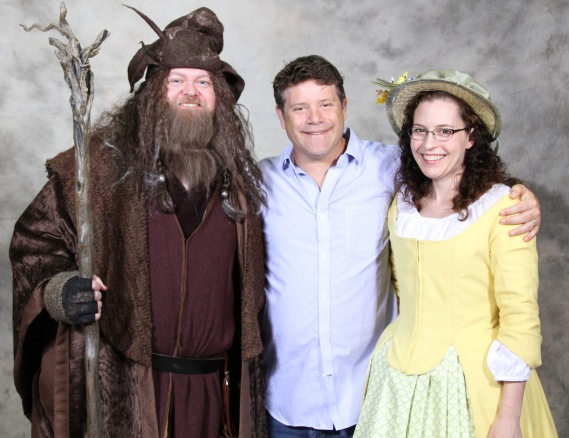 Sean Astin Kansas City Comic Con 2015 Radagast Samwise Mimosa Bunce