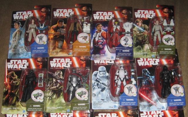 Star Wars Episode VII action figures A eBay