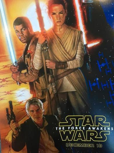 Struzan returns for Force Awakens poster