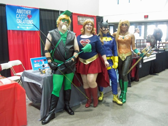 Superhero cosplay KCCC 2015