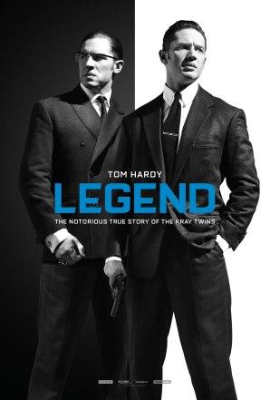 Tom Hardy Legend poster