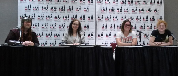 young adult fiction panel Bunce Boyd Hagen KCCC 2015