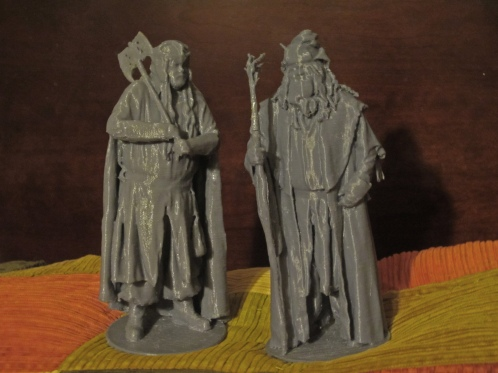 3D Radagast and Gimli