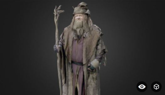 3D rendered Radagast CJ Bunce