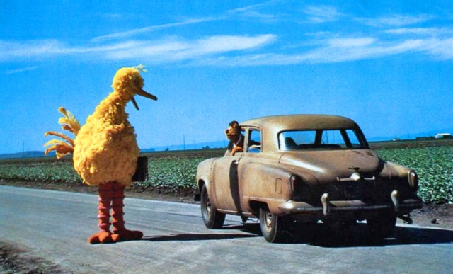 Big Bird in The Muppet Movie