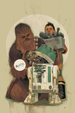 Chewbacca 3 cover art Phil Noto