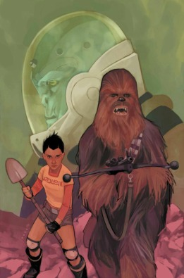 Chewbacca 4 cover art Phil Noto