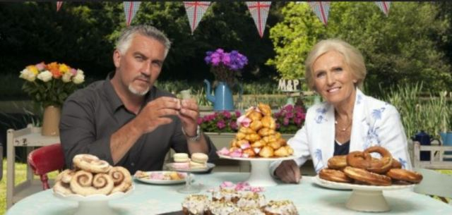 Great British Baking Show judges