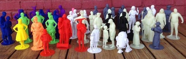 Jo Kamm 3D figures