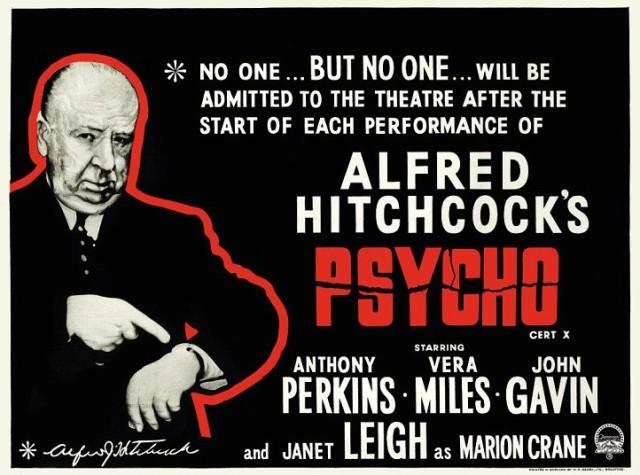 original Psycho schlock poster