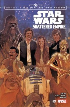 Shattered Empire Phil Noto 1 cover