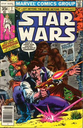 Star Wars 7 Marvel