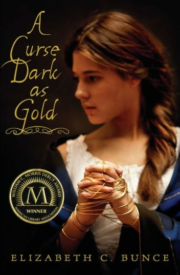 A Curse Dark as Gold cover Elizabeth C Bunce