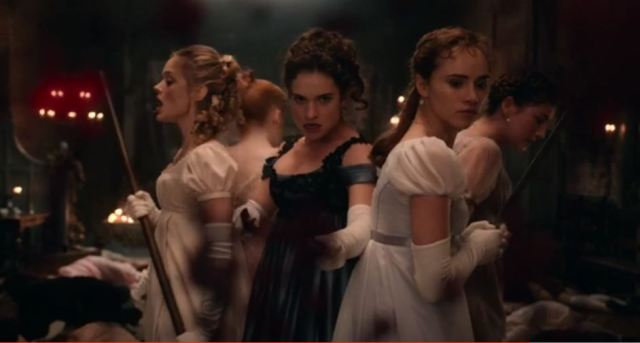 Badass women Pride and Prejudice