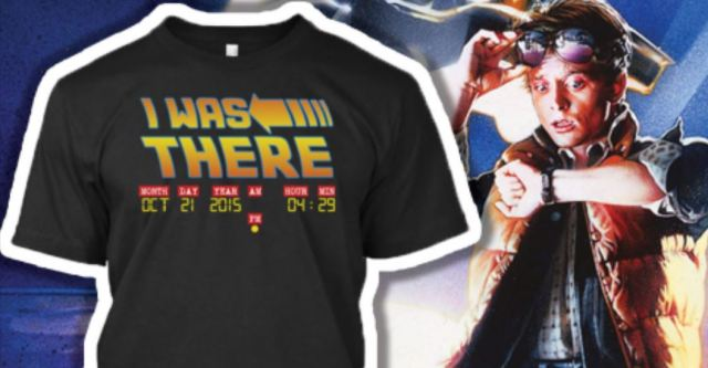 I was There shirt BTTF