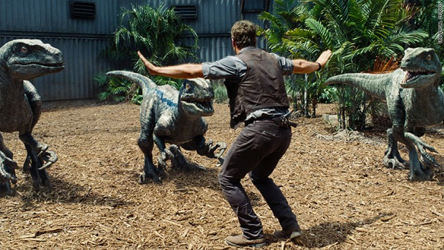 Jurassic World Pratt plus three