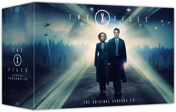 The X-Files boxed set Blu-ray