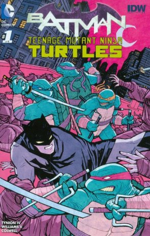 Batman TMNT 1 variant cover