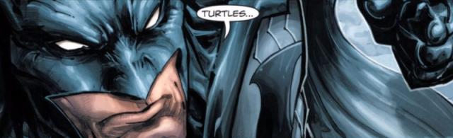Batman TMNT Freddie Williams II art