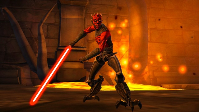 Darth Maul cyborg