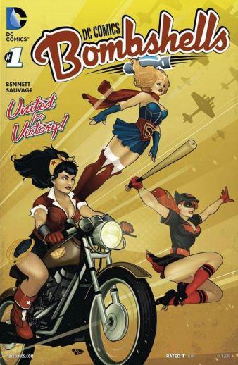 DC Comics Bombshells ish 1