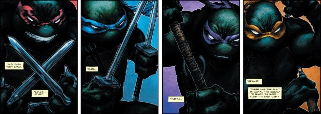 Freddie Williams II Turtles Batman