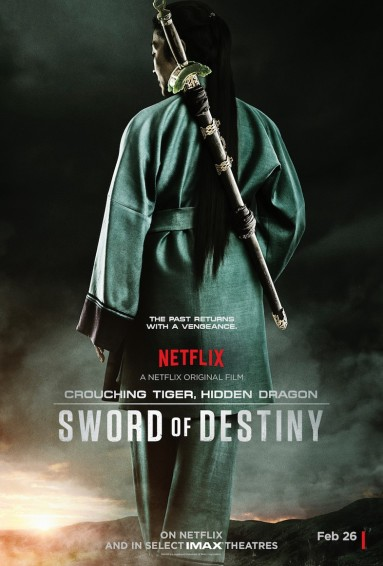 Michelle Yeoh Sword of Destiny poster