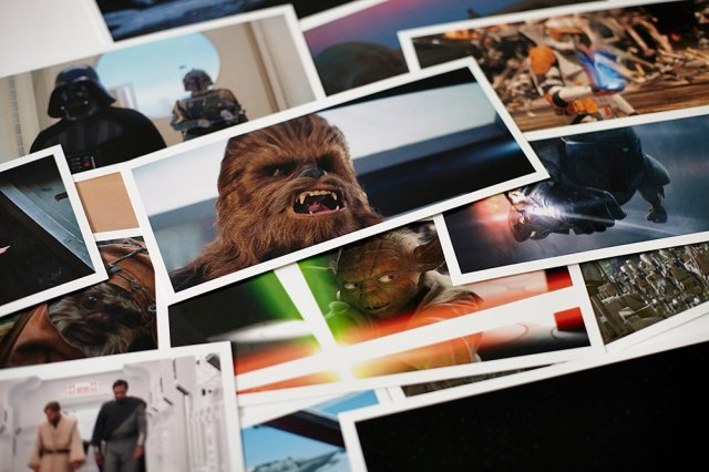 Star Wars Frames postcards