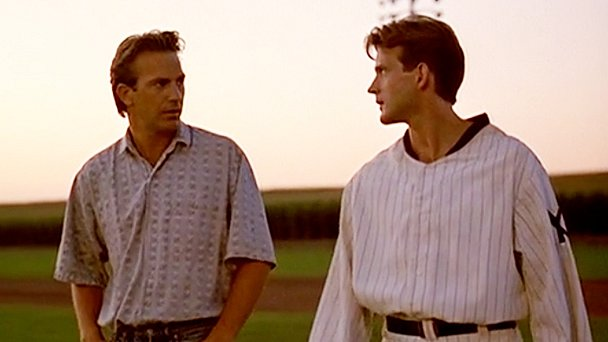 Field of Dreams catch scene