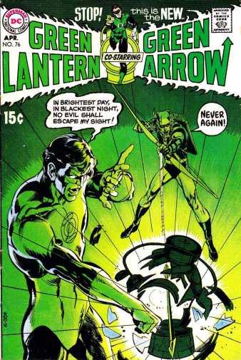 Green Lantern 76 Adams