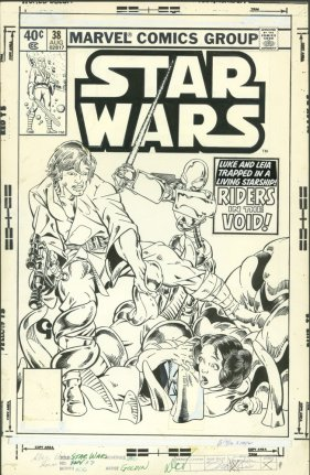Michael Golden Star Wars 38