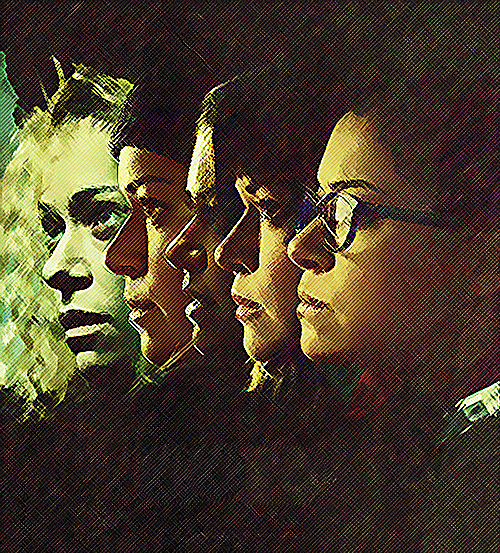 Orphan Black art Bunce