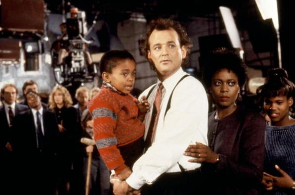 SCROOGED, Nicholas Phillips, Bill Murray, Alfre Woodard, 1988, (c)Paramount