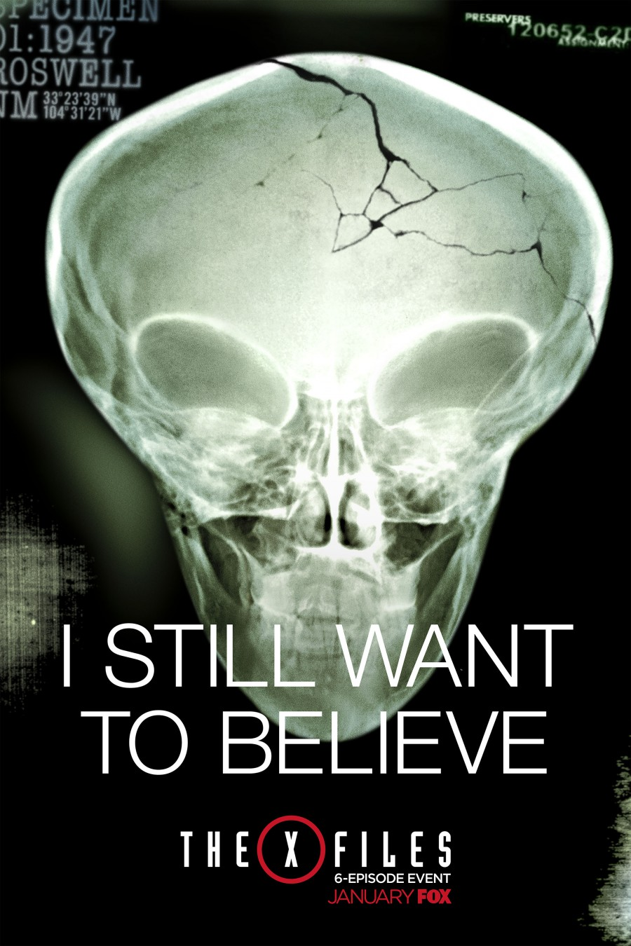 Previews and Posters�...X Files Poster