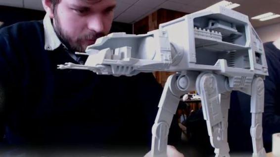 3D AT-AT model