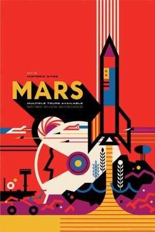 Mars Tour NASA