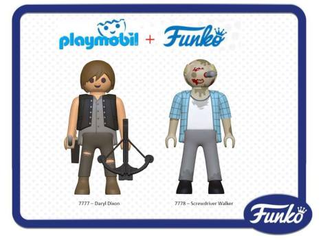 playmobil funko walking dead