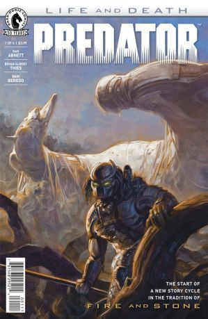 Predator Life and Death 1 cover