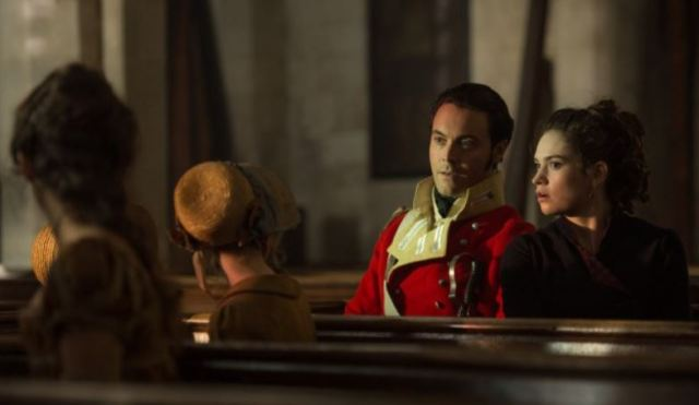 Pride and Prejudice and Zombies Liz and Wickham