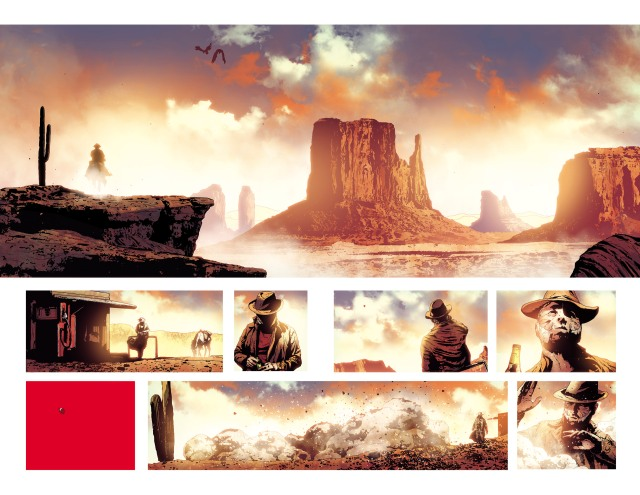 Sorrentino Old Man Logan art