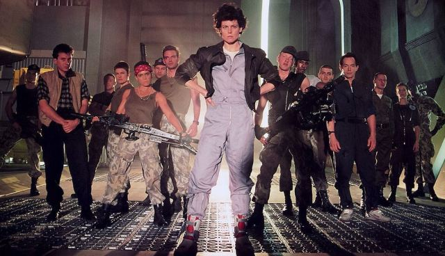 Aliens rock music video 1980s