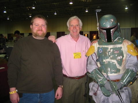 Comic Con with Boba Fett Jeremy Bulloch Bunce