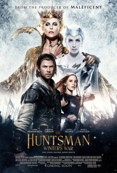 The Huntsman Winter's War poster